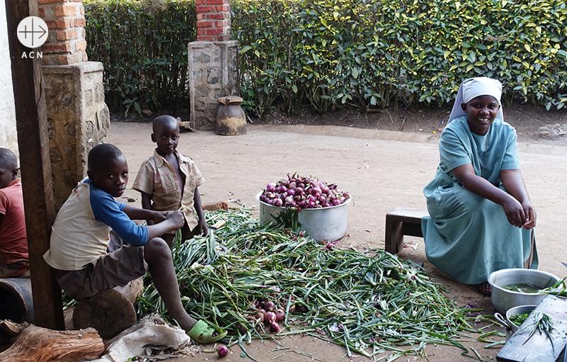 부카부대교구 부활의 딸 수녀회 (출처=ACN 자료사진)