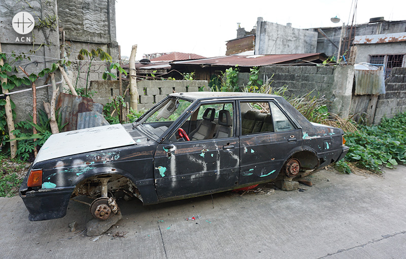 IS 추종단체 마우테가 파괴한 마라위의 '그라운드 제로' (출처=ACN 자료사진)