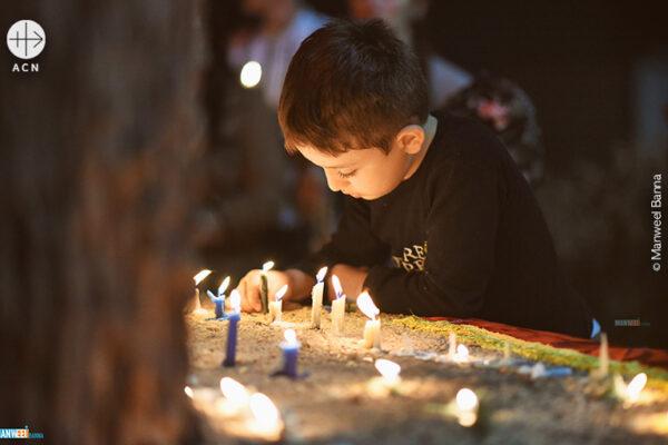 2019년 11월 30일 이라크의 평화를 위한 기도 (출처=ACN 자료사진)