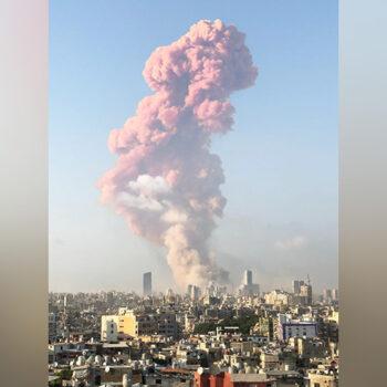 레바논 베이루트 폭발 사고 (출처=ACN 자료사진)