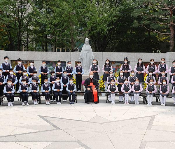 ACN 한국지부 2020 '100만 어린이의 묵주기도' 행사 (서울 계성초등학교)