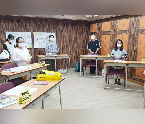 ACN 한국지부 2020 '100만 어린이의 묵주기도'에 참여한 대구 도원성당 첫영성체반