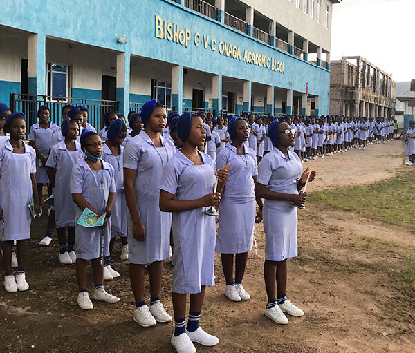 2020년 100만 어린이의 묵주기도, 가나의 학교 (출처=ACN 자료사진)