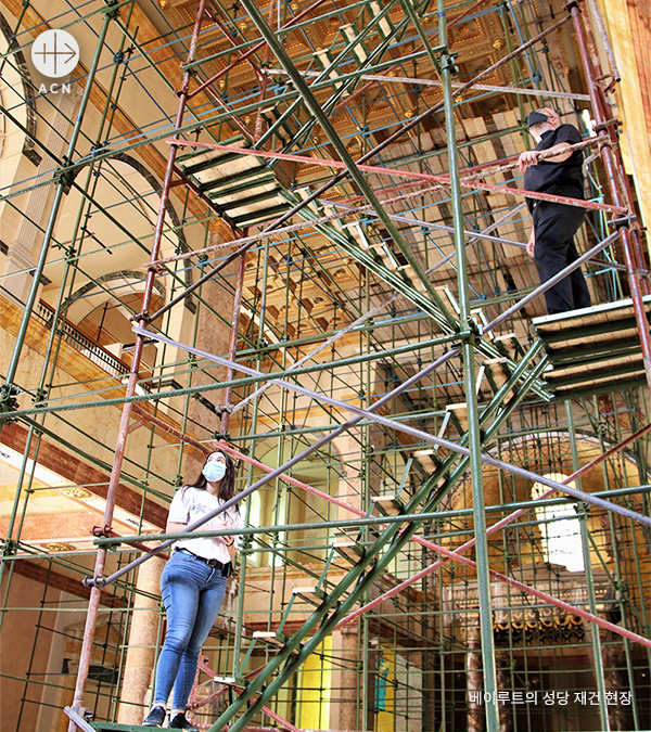 reconstruction-work-of-churches-in-beirut