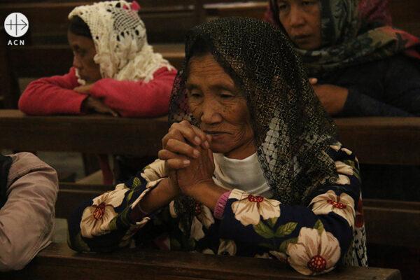 미얀마의 그리스도인 (출처=ACN 자료사진)