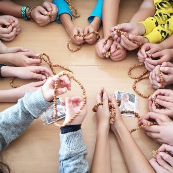 ACN '100만 어린이의 묵주기도' 슬로바키아